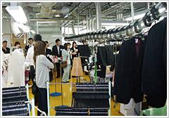 レイアウトが変わり作業効率がアップした仙台工場